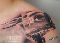 lublin tattoo, tatuaz lublin, tattoo lublin, abstract tattoo