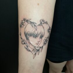 lublin tattoo, tatuaz lublin, tattoo lublin, aloe.ink, watercolor, color tattoo, tatuaż profesjonalny, tatuaż Lublin, tat, tatuaz, tatoo, Armin, attac on titans, aot, anime, animetattoo, bff tattoos, bff tattoo